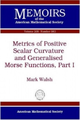 Metrics of Positive Scalar Curvature and Generalised Morse Functions