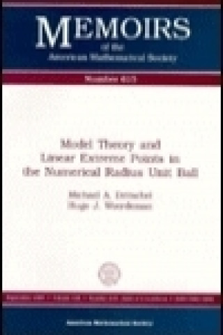 Model Theory and Linear Extreme Points in the Numerical Radius Unit Ball