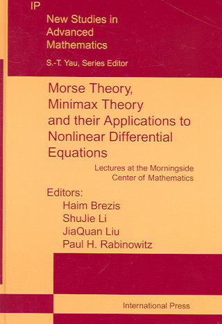 Morse Theory, Minimax Theory and Their Applications to Nonlinear Differential Equations
