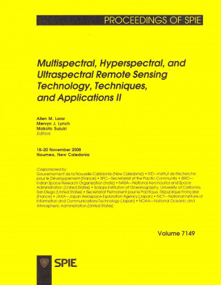Multispectral, Hyperspectral, and Ultraspectral Remote Sensing Technology, Techniques, and Applications II