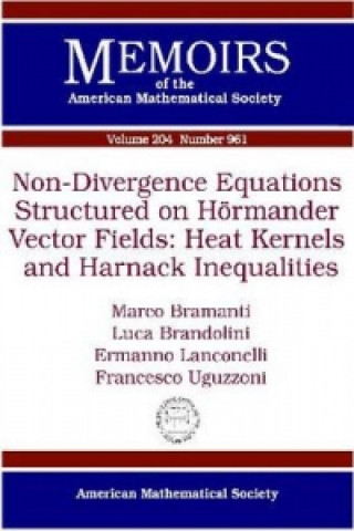 Non-divergence Equations Structured on Hormander Vector Fields