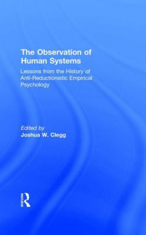 Observation of Human Systems
