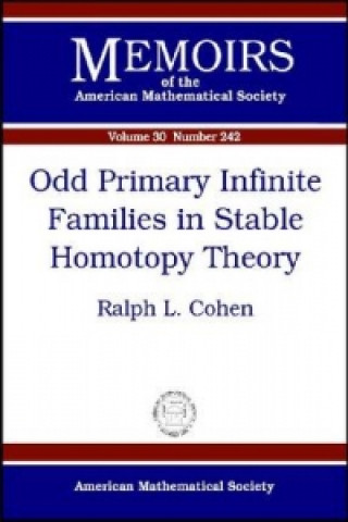 Odd Primary Infinite Families in Stable Homotopy Theory