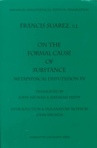 On the Formal Cause of Substance