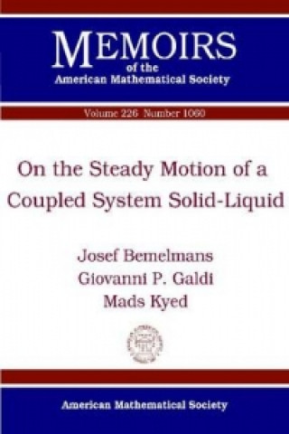 On the Steady Motion of a Coupled System Solid-Liquid
