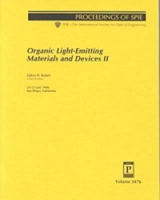 Organic Light-Emitting Materials and Devices II