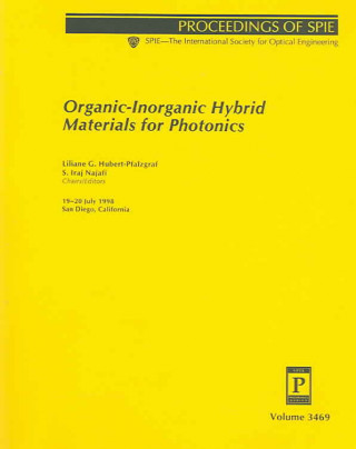 Organic-Inorganic Hybrid Materials for Photonics