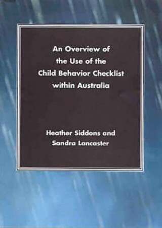Overview of the Use of the Child Behavior Checklist within Australia