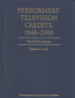 Performers' Television Credits 1948-2000