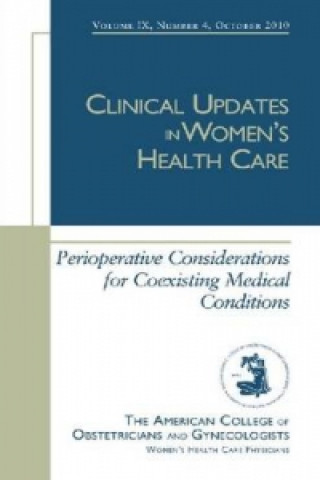 Perioperative Considerations for Coexisting Medical Conditions