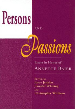 Persons and Passions