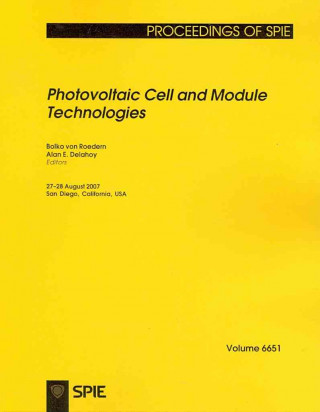 Photovoltaic Cell and Module Technologies