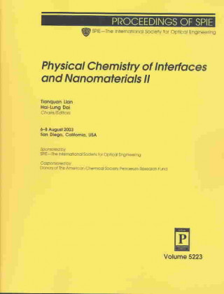 Physical Chemistry of Interfaces and Nanomaterials