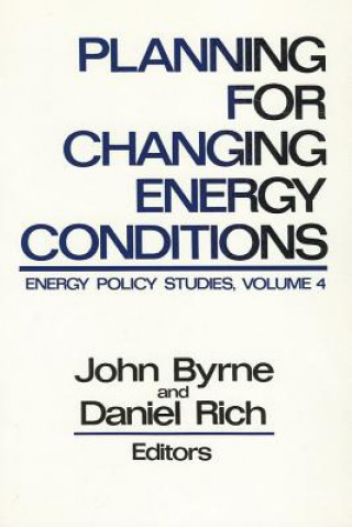 Planning for Changing Energy Conditions