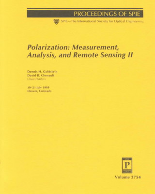 Polarization: Measurement, Analysis, and Remote Sensing II