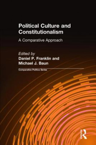 Political Culture and Constitutionalism