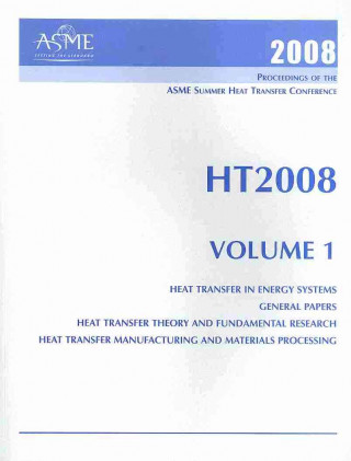 Print Proceedings of the ASME 2008 Summer Heat Transfer Conference (HT2008)