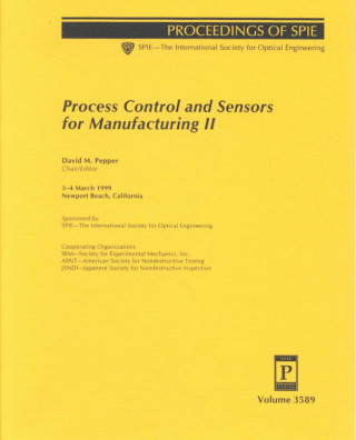 Process Control and Sensors for Manufacturing II