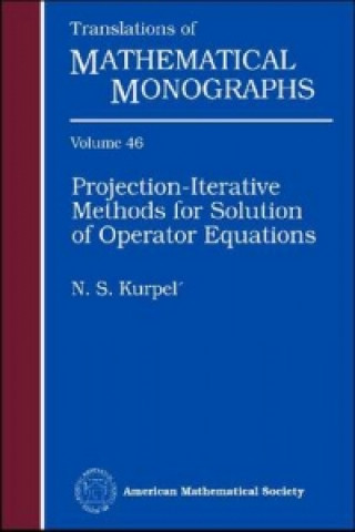 Projection-iterative Methods for Solution of Operator Equations