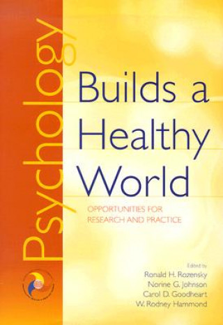 Psychology Builds a Healthy World