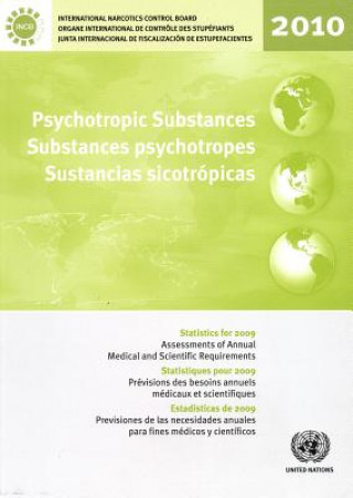 Psychotropic Substances: Statistics for 2009 - Assessments of Annual Medical and Scientific Requirements