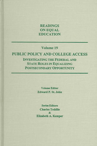 Public Policy and College Access
