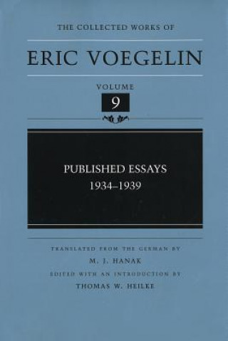Published Essays, 1934-1939