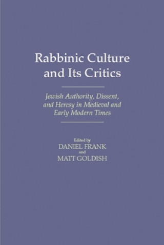 Rabbinic Culture and Its Critics