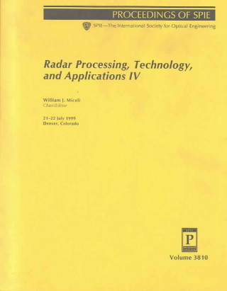 Radar Processing, Technology, and Applications IV