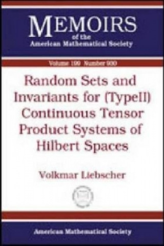Random Sets and Invariants for (type II) Continuous Tensor Product Systems of Hilbert Spaces