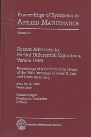 Recent Advances in Partial Differential Equations, Venice, 1996