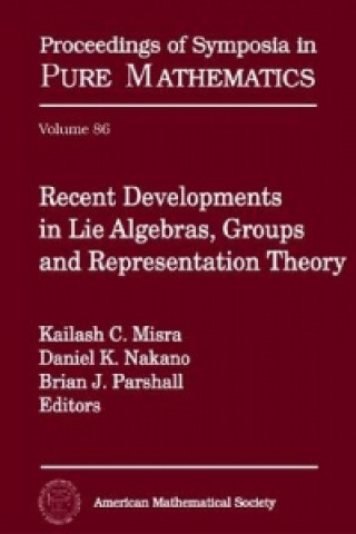 Recent Developments in Lie Algebras, Groups and Representation Theory