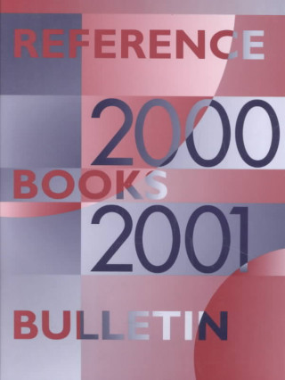 Reference Books Bulletin, 2000-2001