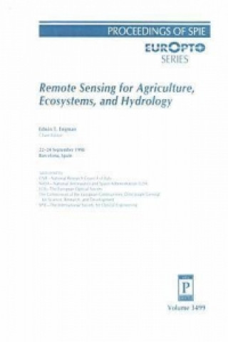 Remote Sensing for Agriculture, Ecosystems and Hydrology