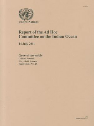 Report of the Ad Hoc Committee on the Indian Ocean