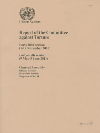 Report of the Committee Against Torture