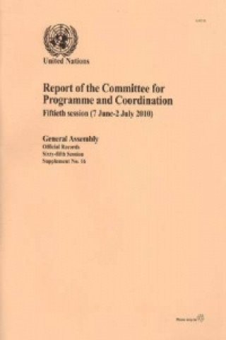 Report of the Committee for Programme and Coordination