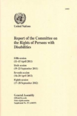 Report of the Committee on the Rights of Persons with Disabilities