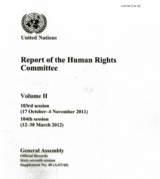 Report of the Human Rights Committee