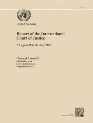 Report of the International Court of Justice