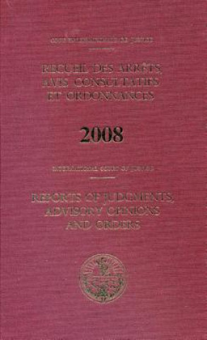 Reports of Judgments, Advisory Opinions and Orders 2008