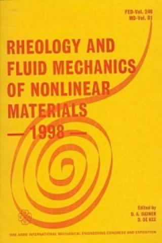 Rheology and Fluid Mechanics of Nonlinear Materials - 1998