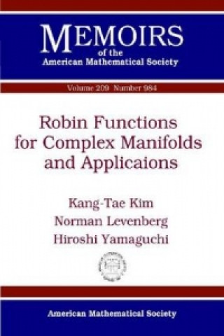 Robin Functions for Complex Manifolds and Applications