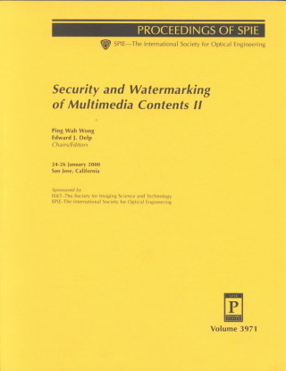 Security and Watermaking of Multimedia Contents II