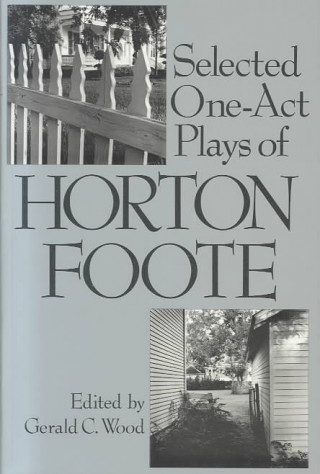 Selected One-Act Plays Horton
