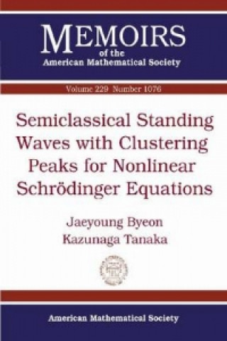 Semiclassical Standing Waves with Clustering Peaks for Nonlinear Schreodinger Equations