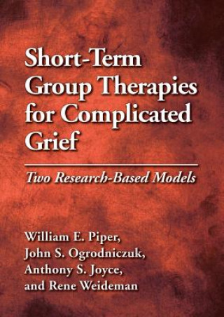 Short-Term Group Therapies for Complicated Grief
