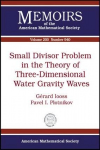 Small Divisor Problem in the Theory of Three-dimensional Water Gravity Waves