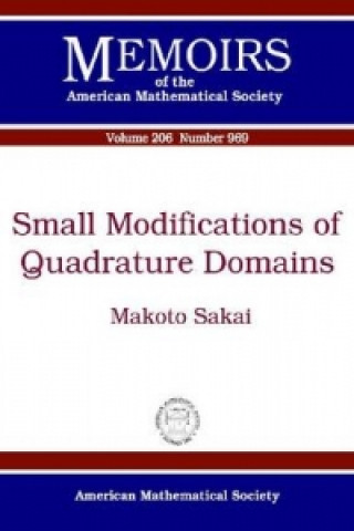 Small Modifications of Quadrature Domains