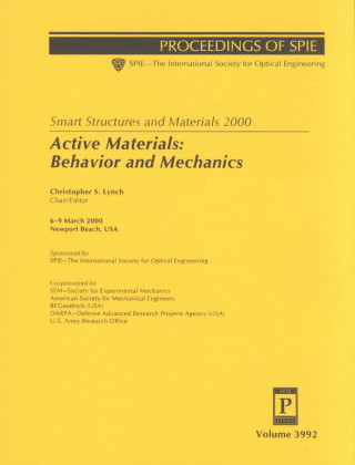 Smart Structures and Materials 2000: Active Materials - Behaviour and Mechanics